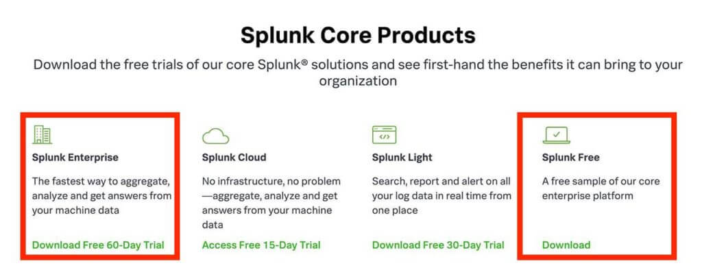 splunk-core-products