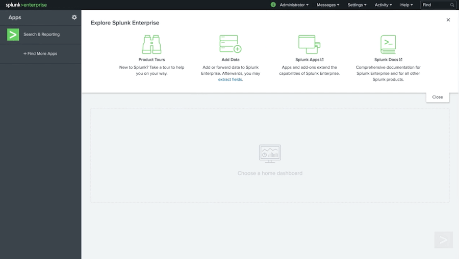 splunk-web-interface