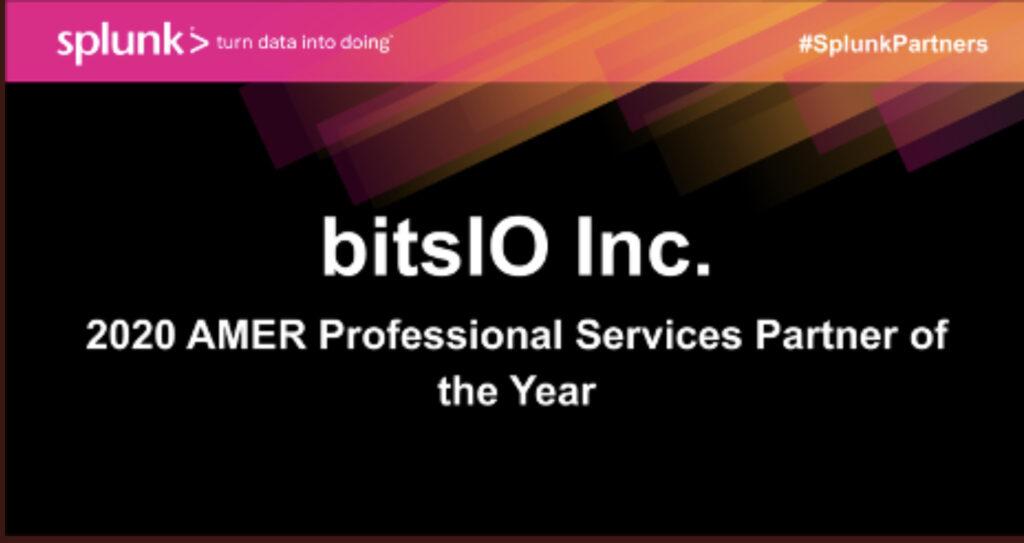 bitsIO partner of the year award